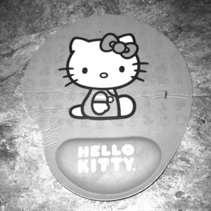 Pink Hello Kitty mouse pad